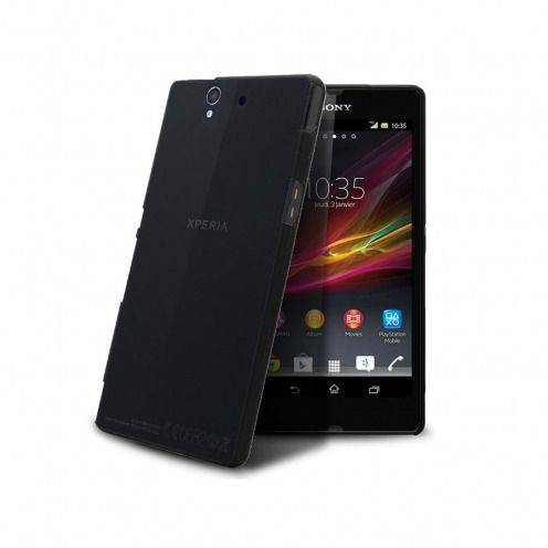 Ultra thin Case 0.3 mm Frost for XPeria Z Black