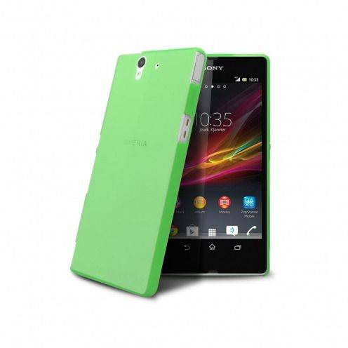 Ultra thin Case 0.3 mm Frost for XPeria Z Green