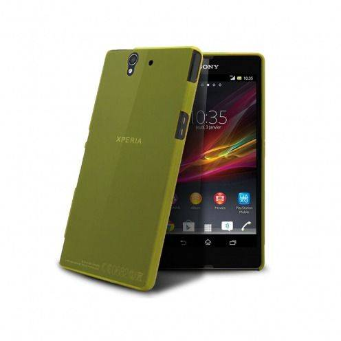 Ultra thin Case 0.3 mm Frost for XPeria Z Yellow
