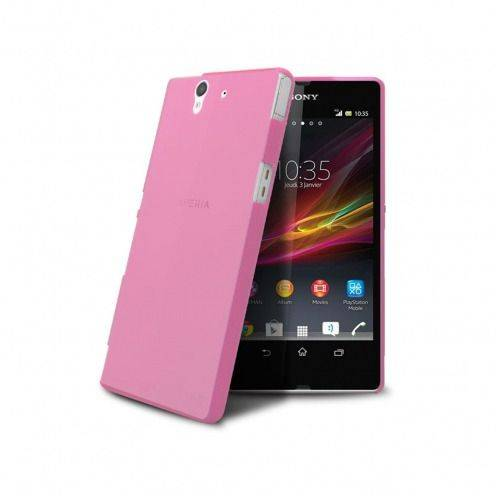 Ultra thin Case 0.3 mm Frost for XPeria Z Pink