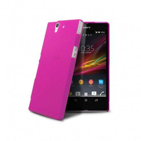 Ultra thin Case 0.3 mm Frost for XPeria Z Hot Pink