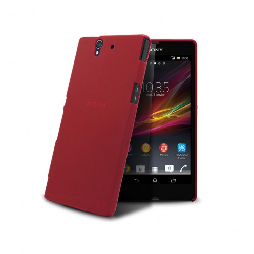 Ultra thin Case 0.3 mm Frost for XPeria Z Red