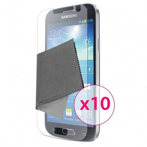 Clubcase ® Ultra Clear HQ screen protector for Galaxy S4 mini 10-Pack