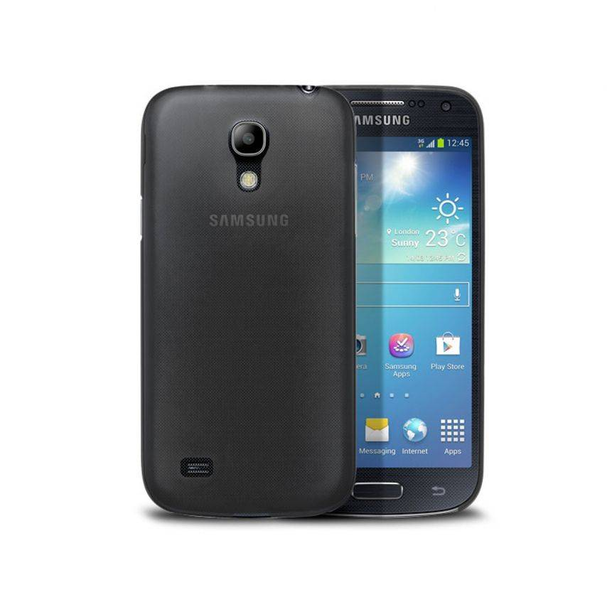 Ultra thin Case 0.3 mm Frost for Samsung Galaxy S4 mini Black