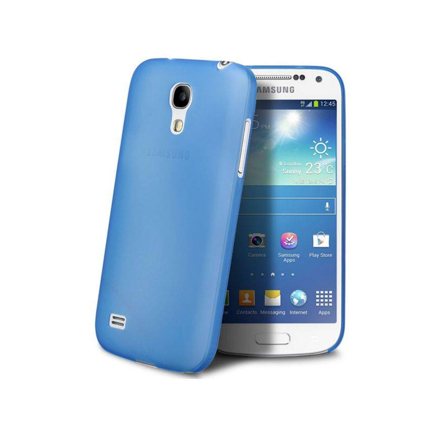 Ultra thin Case 0.3 mm Frost for Samsung Galaxy S4 mini Blue