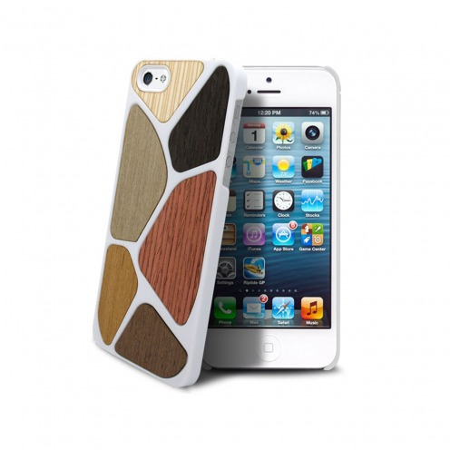 Bagheera White Patchwork case for iPhone ® 5