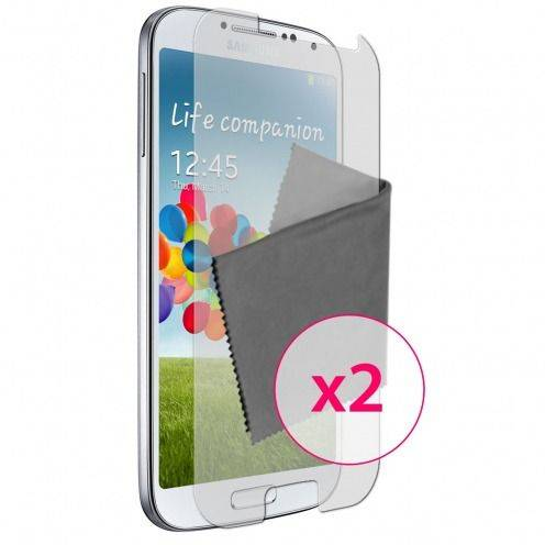 Clubcase ® Anti-Glare HQ screen protector for Galaxy S4 2-Pack