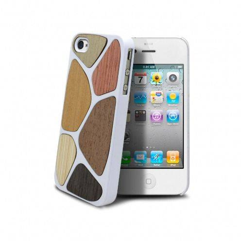 Bagheera White Patchwork case for iPhone ® 4/4s