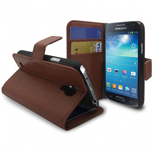 Smart Cover Samsung Galaxy S4 mini Havana marbled Leatherette