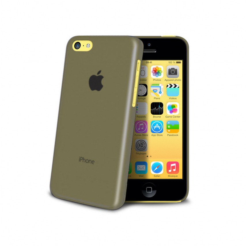 Ultra thin Case 0.3 mm Frost for iPhone 5C black