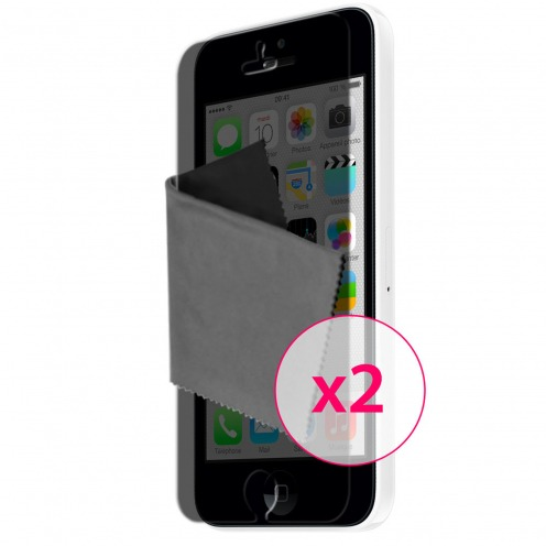 Clubcase ® Privacy Anti-glare screen protector for iPhone 5C set of 2