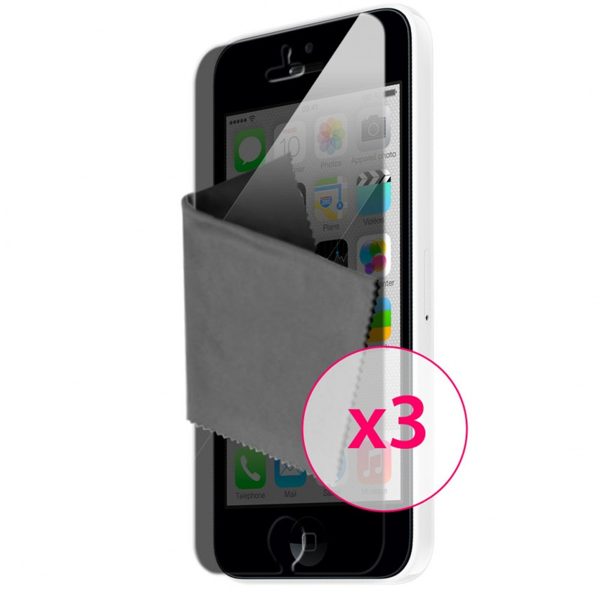 Clubcase ® Privacy HQ screen protector for iPhone 5C 3-Pack