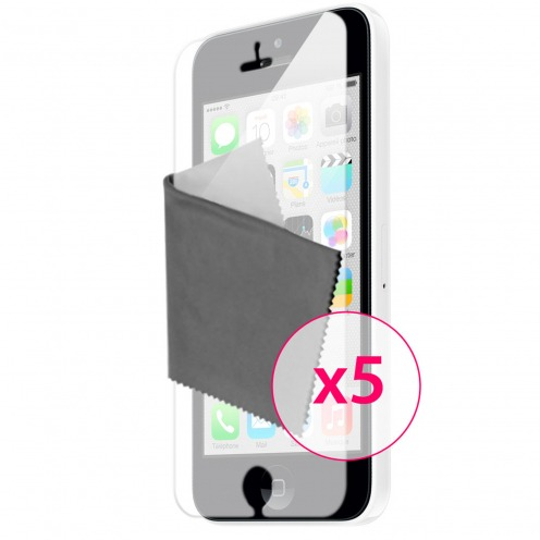 Clubcase ® Mirror HQ screen protector for iPhone 5C 5-Pack