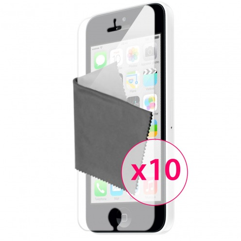 Clubcase ® Mirror HQ screen protector for iPhone 5C 10-Pack