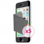 Clubcase ® Ultra Clear HQ screen protector for iPhone 5C 5-Pack