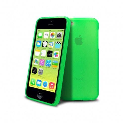 Frozen Ice Extra Slim soft green case for IPhone 5C