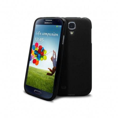 Frozen Ice Extra Slim soft opaque black case for Samsung Galaxy S4