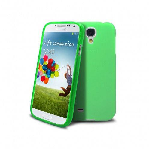 Frozen Ice Extra Slim soft green case for Samsung Galaxy S4