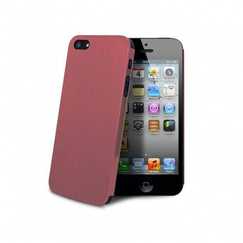 Acero Ultra-thin Pink Brushed Metal Case for iPhone 5 / 5S