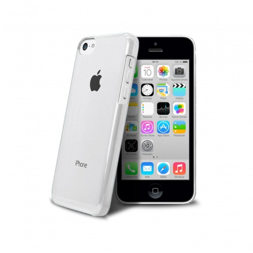 """Crystal"" case for iPhone 5C White"
