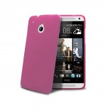 Frozen Ice Extra Slim soft pink case for HTC One mini