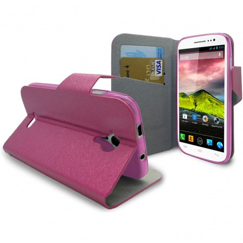 Smart Cover Wiko Cink Five Papyrus Pink