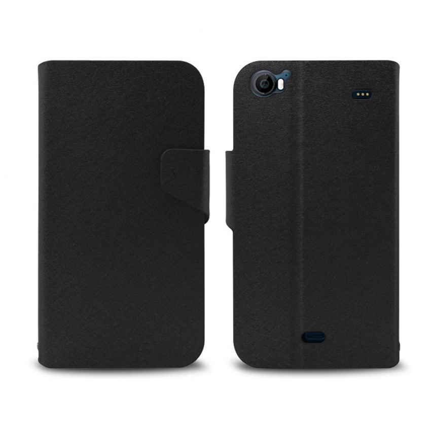 Smart Cover Wiko Darkside Papyrus Black