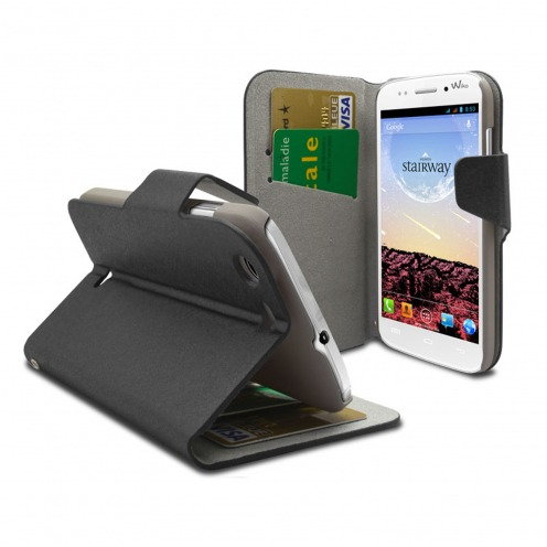 Smart Cover Wiko Stairway Papyrus Black