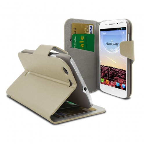 Smart Cover Wiko Stairway Papyrus Cream