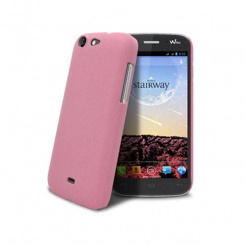 Sand Cover Case Wiko Stairway Pink