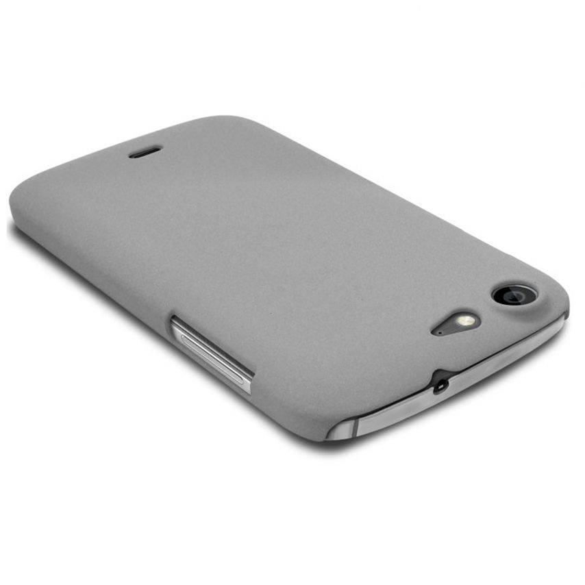 Sand Cover Case Wiko Stairway Grey
