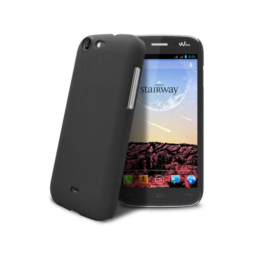 Sand Cover Case Wiko Stairway Black