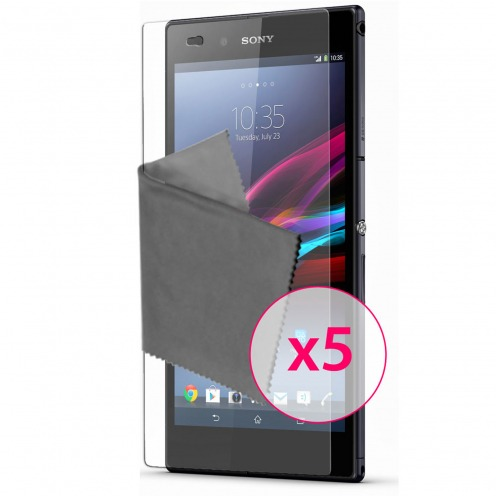 Clubcase ® Ultra Clear HQ screen protector for Sony XPERIA Z Ultra 5-Pack
