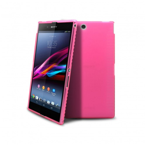 Frozen Ice Extra Slim soft pink case for Sony Xperia Z Ultra