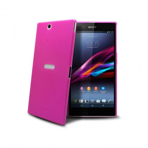 Ultra thin Case 0.3 mm Frost for XPeria Z Ultra Pink