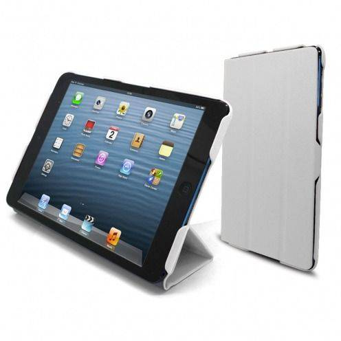 Ultra Light Smart Cover Stand case for iPad Mini White
