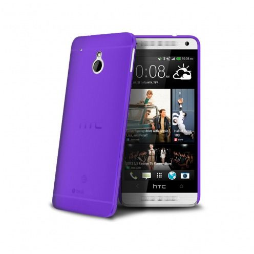 Ultra thin Case 0.3 mm Frost for HTC One mini Purple