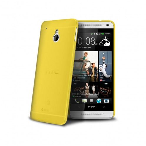 Ultra thin Case 0.3 mm Frost for HTC One mini Yellow
