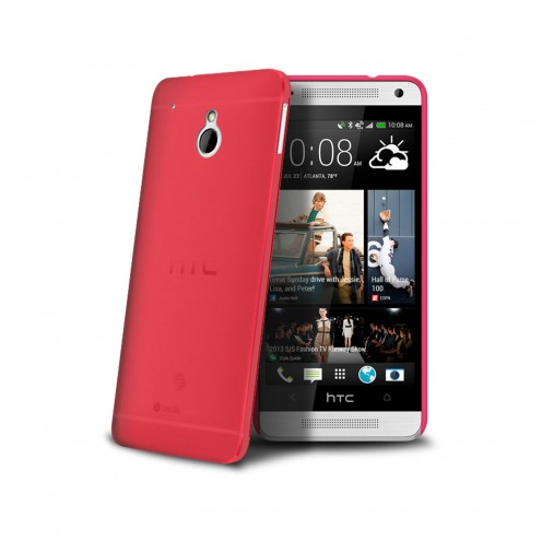 Ultra thin Case 0.3 mm Frost for HTC One mini Red