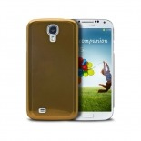 Acero Ultra-thin Golden Brushed Metal Case for Samsung Galaxy S4