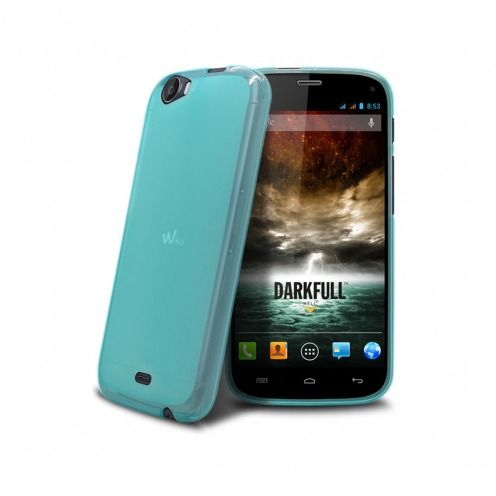 Frozen Ice Extra Slim soft blue case for Wiko DARKFULL