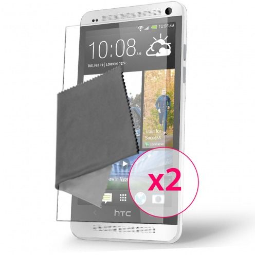 Clubcase ® Anti-Glare HQ screen protector for HTC One Mini 2-Pack