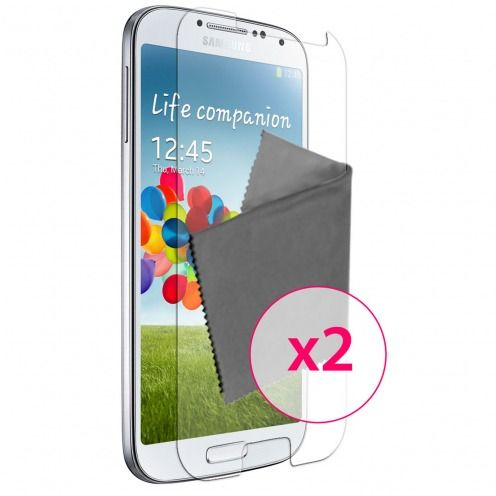 Pack of 2 Anti-Fingerprints Screen protector for Galaxy S4 Clubcase ®