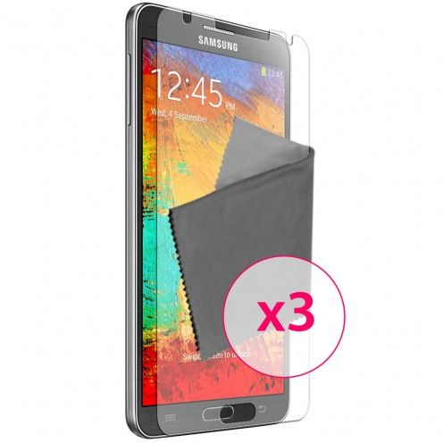 Clubcase ® Anti-Glare HQ screen protector for Galaxy Note 3 3-Pack