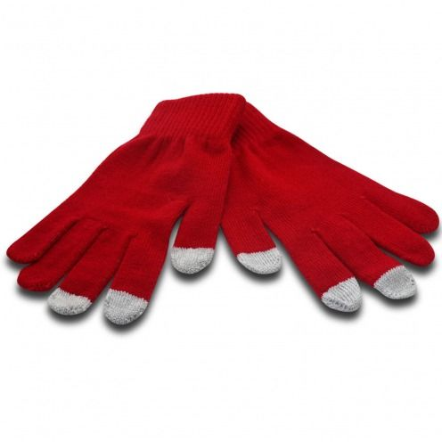 iTouch - Touch Gloves special iPhone iPad Red - size S