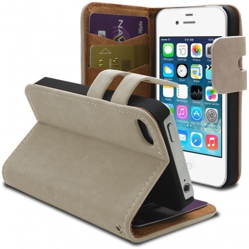 Smart Cover iPhone 4/4S Fawn Suede Cream
