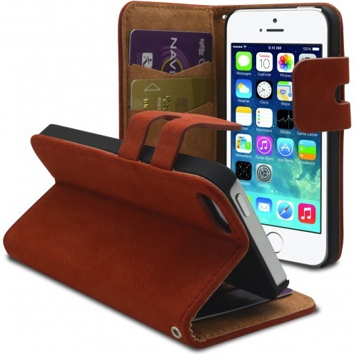 Smart Cover iPhone 5/5S Amaranth Suede finish