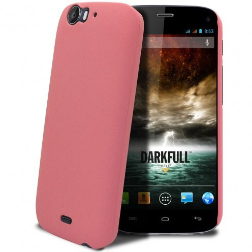 Sand Cover Case Wiko Darkfull Pink