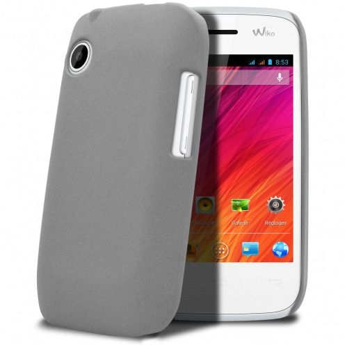Sand Cover Case Wiko Ozzy Grey