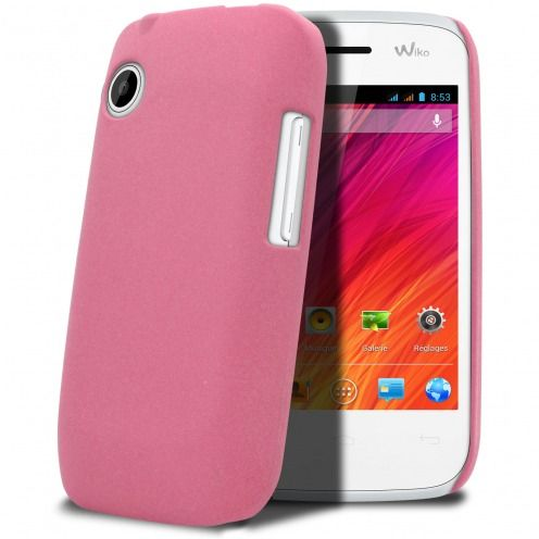 Sand Cover Case Wiko Ozzy Pink